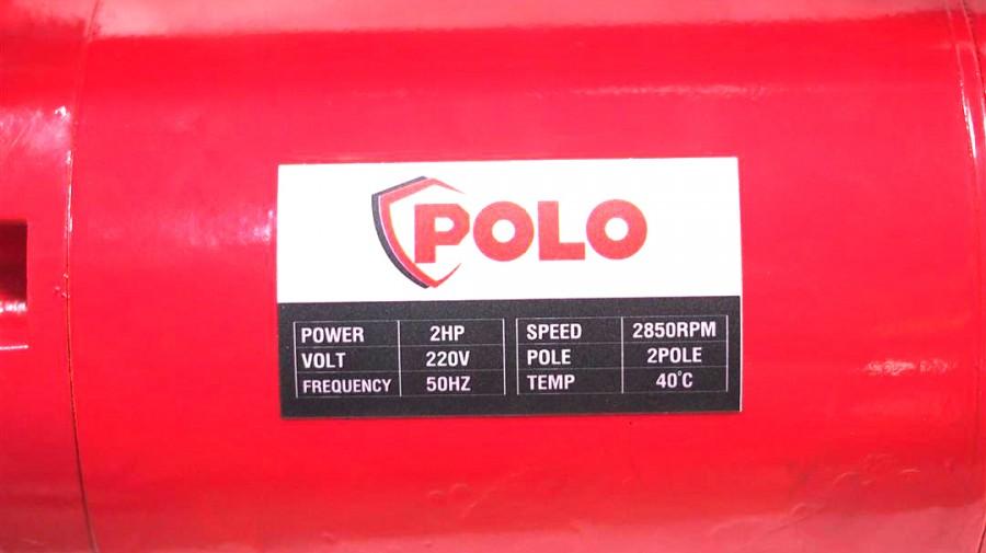 มอเตอร์เครื่องจี้ปูน 2HP POLO ZN-50HA พร้อมสายจี้ปูนยาว 1.5 เมตร