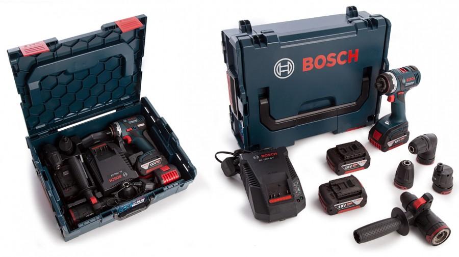 สว่านไร้สายอเนกประสงค์ ( 4in1 ) BOSCH รุ่น GSR 18 V-EC FC2