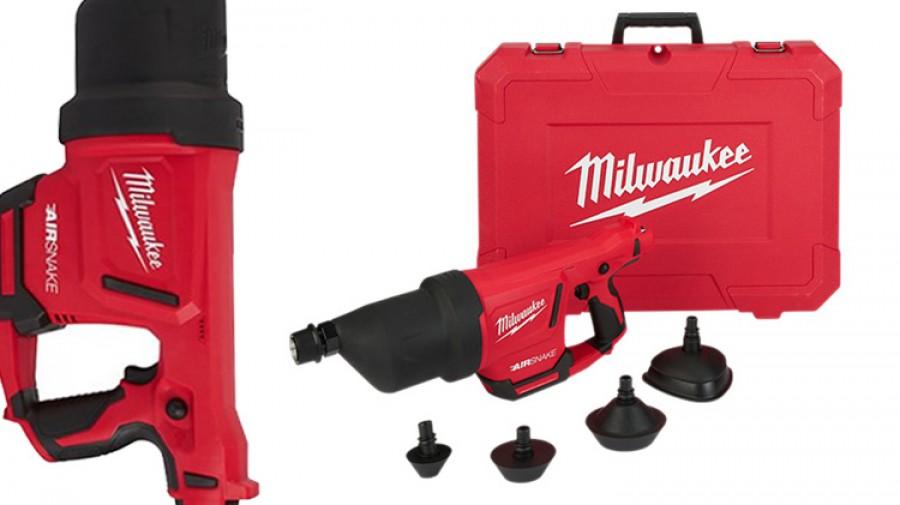 เครื่องทะลวงท่อไร้สาย Milwaukee M12DCAG-0C AIRSNAKE Drain Cleaning Air Gun (Tool Only)