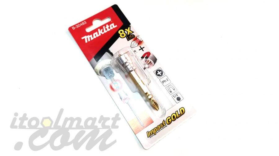 ดอกไขควง MAKITA รุ่น B-30483 พร้อมแม่เหล็กดูดสกรู