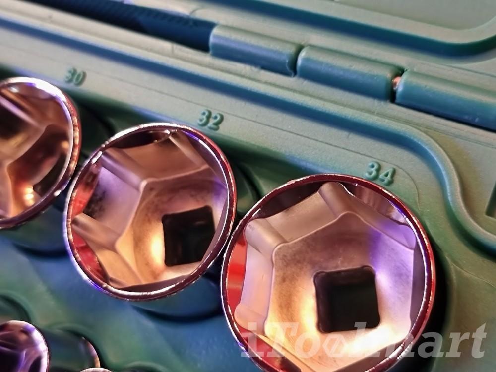 ชุดลูกบล็อก 46 ชิ้น 1/2 นิ้ว SATA 09006