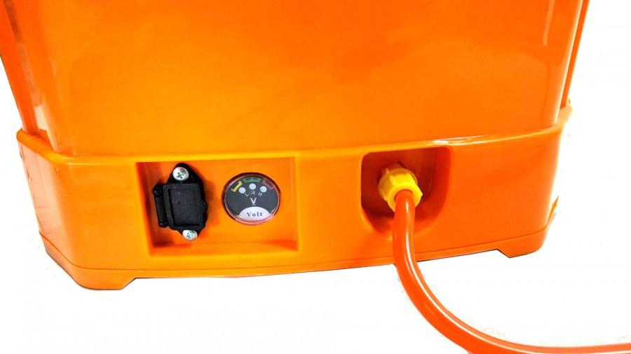 เครื่องพ่นยา แบตเตอรี่ MITSUTECH 20 ลิตร สีส้ม