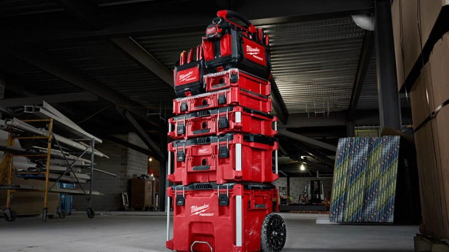กล่องเครื่องมือ MILWAUKEE 48-22-8425 PACKOUT Large Tool Box