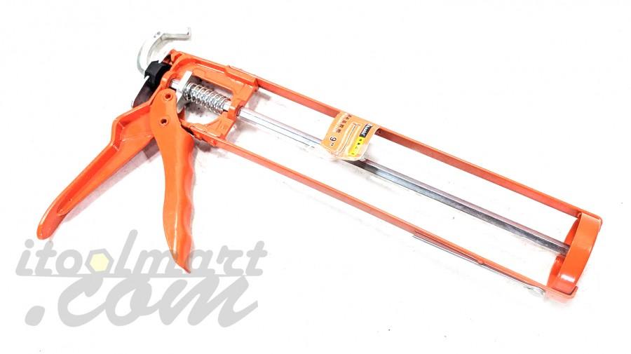 ปืนยิงซิลิโคน เปลือย ขนาด 10 นิ้ว สีส้ม ASAKI AK-6785