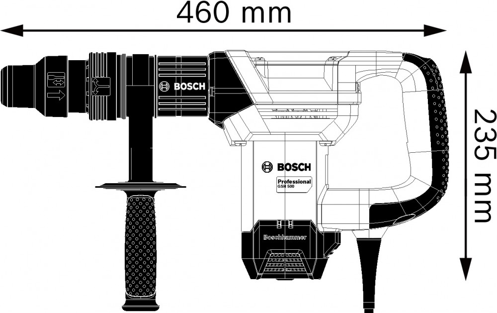 BOSCH GSH 500 Max