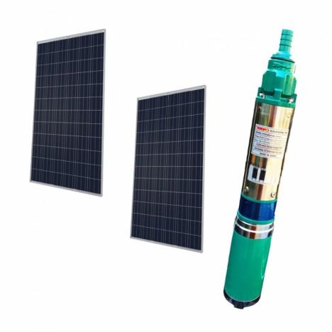 ราคา-ขายชุด ปั๊มบาดาล ปั๊มซับเมอร์ส พลังงานแสงอาทิตย์ TAYO-ระบบ DC. 72V. +  พร้อมแผงโซล่าเซลล์ 300w. 2 แผง | Toolmart
